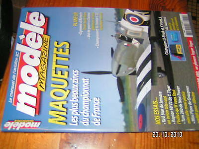 Modele Magazine n°625 Plan encarté Machaon 450 Raptor