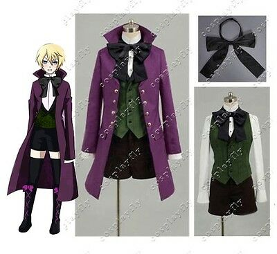 Black Butler II 2 Alois Trancy Cosplay Costume New
