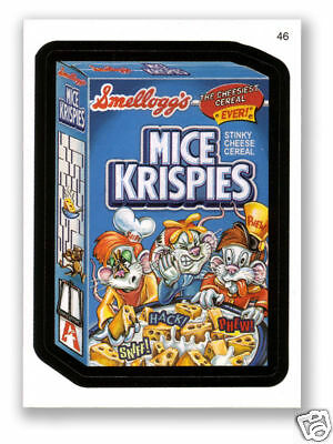 Wacky Packages Series #5 - Mice Krispies Cereal - Mint!