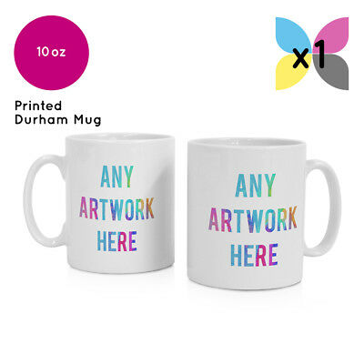 1 Personalised Promotional Photo Mug Cup Tea Coffee Image Text Logo Printed