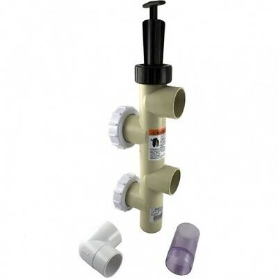 """Pentair PacFab 263079 2/"""" PVC Slide Valve for Pool//Spa Sand and D.E Filters"""