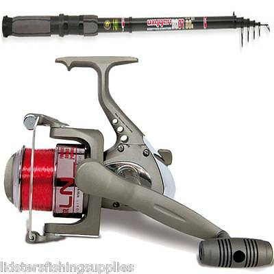 Brand New Carbon Telescopic Travel Rod + Reel Deal Sale