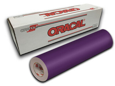 "24"" X 10yd - Violet Oracal 651 Intermediate Graphic & Sign Cutting Vinyl"