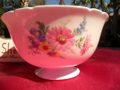 Shelley  German Rose Sprays   Large   Sugar Bowl