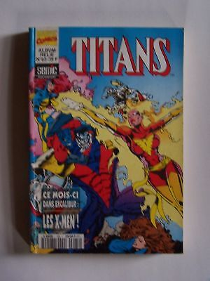 MARVEL COMICS album relié TITANS N° 65 1995