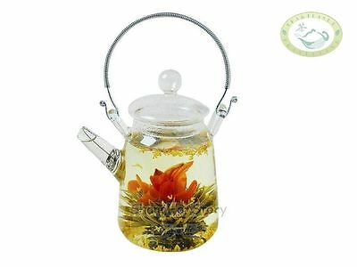 Glass Teapot Heat Resistant For Blooming tea 350ml/12oz