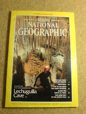 NATIONAL GEOGRAPHIC - LECHUGILLA CAVE - March 1991