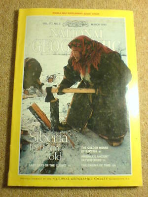 NATIONAL GEOGRAPHIC - SIBERIA - March 1990