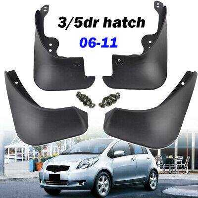 Fit For Toyota Yaris 2005~2011 Hatch Vitz Mud Flap Flaps Splash Guards Mudguards