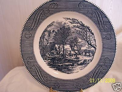 1-10'' Royal China by Jeannette, Currier & Ives Plate