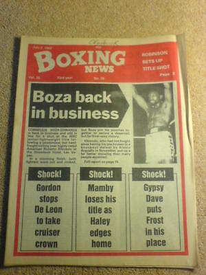 BOXING NEWS - 2 July 1982