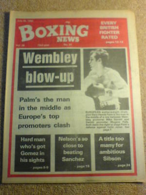 BOXING NEWS - 30 July 1982
