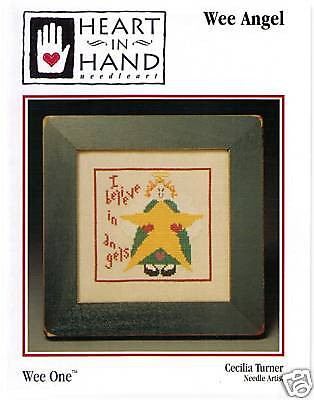 HEART IN HAND NEEDLEART Counted Cross Stitch Patterns BY CECILIA TURNER Choose!