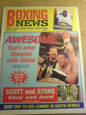 BOXING NEWS - 16 March 2001 - TYSON'S BROTHER