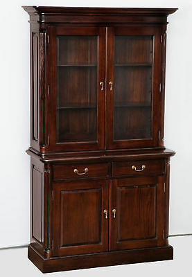 Bookcase Bookshelf Executive Office Furniture Mahogany