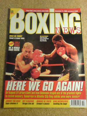 BOXING NEWS - 11 Dec 1998 - GATTI ROBINSON