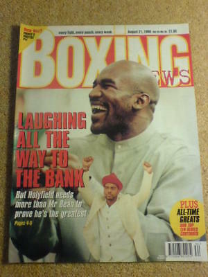 BOXING NEWS - 21 Aug 1998 - HOLYFIELD