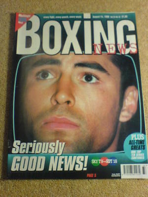 BOXING NEWS - 14 Aug 1998