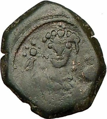 Manuel I 1143AD Rare Ancient  Authentic BYZANTINE  Coin  Monogram   i17763