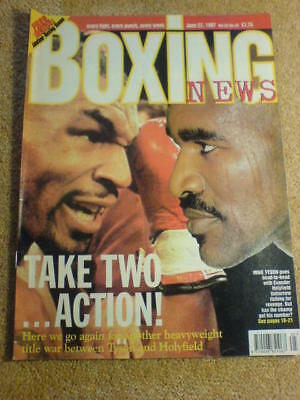BOXING NEWS - 27 June 1997 - TYSON HOLYFIELD