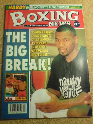 BOXING NEWS - 3 Nov 1995 - BOWE HOLYFIELD