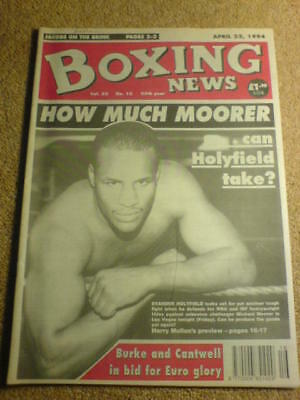 BOXING NEWS - 22 April 1994 - HOLYFIELD