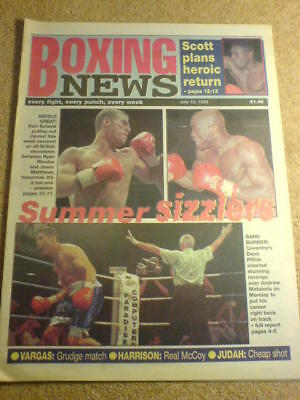 BOXING NEWS - 16 July 1999 - DEAN PITHIE
