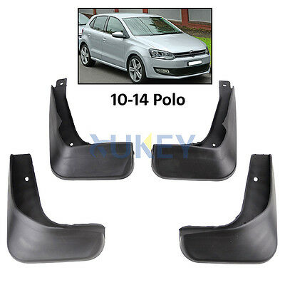 Mud Flaps Splash Guards Fit For Volkswagen VW POLO MK5 6R 2010-2014 Mudflaps