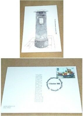 Unused Postcard Fds Postbox #2