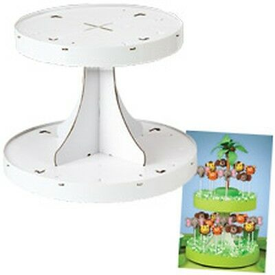 Wilton Cake Pops 2 Tier Decorating Stand Brownie Cookie