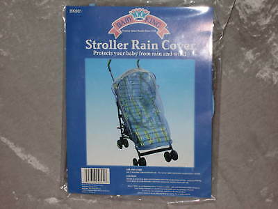 Baby Stroller Rain Cover Wind Protect Outdoors NEW!