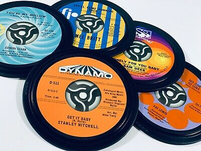 6 NORTHERN SOUL coasters. Popsters