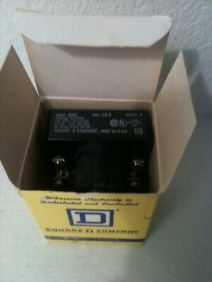 Nos! Square D 10/5A Relay 8501-Co-3 8501Co3 Ser.a
