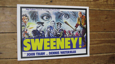 The Sweeney 2 John Thaw Repro FIlm POSTER