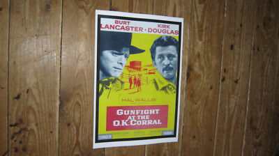 Gunfight at the OK Corral Repro Film POSTER