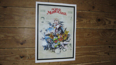 The Great Muppet Caper Repro Film POSTER