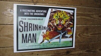The Incredible Shrinking Man Repro Film POSTER