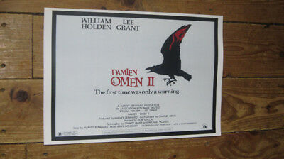 The Omen II Fantastic New Repro Film POSTER