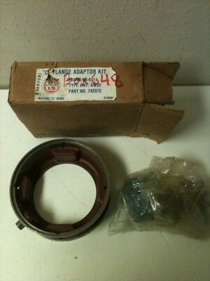NOS! US MOTORS C FLANGE ADAPT KIT 743375 GWF GWBF
