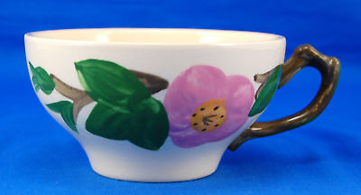 Franciscan DESERT ROSE (ENGLAND) Flat Cup Only 2.25 in. Pink Flowers Earthenware