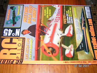 RC PILOT n°45 plan encart Typhoon EPP Mirage 2000-10
