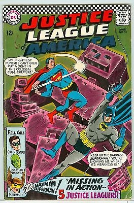 Justice League of America #52 robot cover 1967