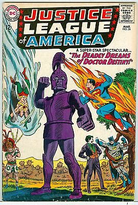 Justice League of America #34 Joker cover 1965