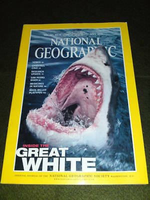 NATIONAL GEOGRAPHIC - GREAT WHITE - Apr 2000 Vol 197 #4