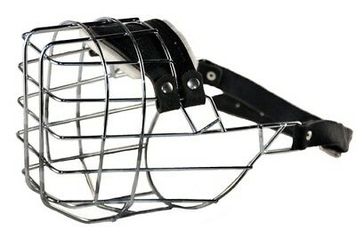 Dean & Tyler DT Freedom Wire Basket Muzzle Offering Maximum Ventilation for Dogs