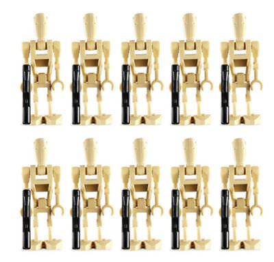 10 NEW LEGO BATTLE DROID MINIFIG LOT star wars figures minifigures clone guns