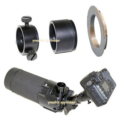 37mm M42 Camera elescope Adapter for Nikon D5000 D3x D90 D700 D60 D3 D7200 D5500