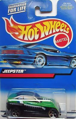 2000 Hot Wheels Jeepster Col. #140