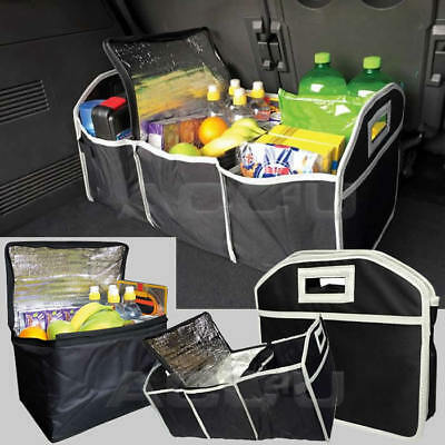 25kg Capacity Collapsible Boot Tidy Organiser, Removable Cooler Compartment. SW