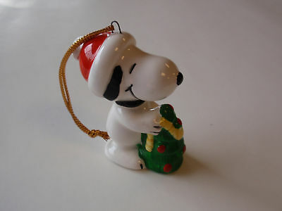Vintage United Features Ceramic Snoopy Ornament 1966